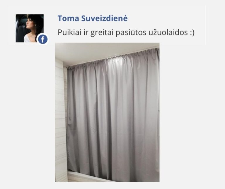 Tomos atsiliepimas